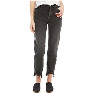 Free People Mid Rise Jeans Sz 25